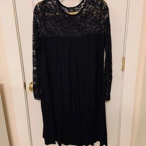 Lovely black ASOS maternity dress